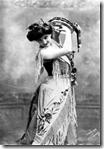 French soprano Emma Calvé as Carmen in George Bizet's opera Carmen